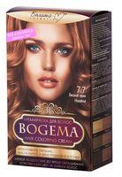 """Крем-краска для волос """"Bogema"""" (тон: 7.7, лесной орех)"""