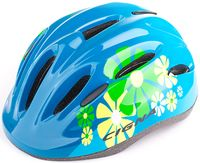 """Шлем велосипедный детский """"WT-024"""" (чёрно-синий)"""