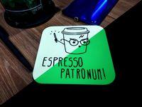 """Подставка под кружку """"Espresso patronum"""""""