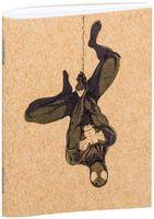 "Блокнот крафт ""Человек-паук"" А7 (арт. 766)"