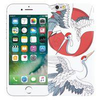 "Чехол для iPhone 6 ""Журавли"" (белый)"
