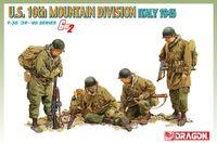 """Набор миниатюр """"U.S. Army 10th Mountain Division Italy 1945"""" (масштаб: 1/35)"""