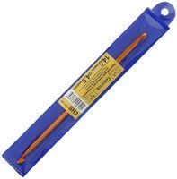 Крючок для вязания двусторонний (металл; 4,5 мм)
