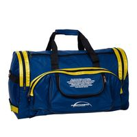 Спортивная сумка П01 (сине-жёлтая)