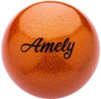 Мяч для художественной гимнастики AGB-103 (19 см; оранжевый)