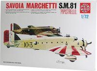 """Бомбардировщик """"Savoia Marchetti S.M.81"""" (масштаб: 1/72)"""