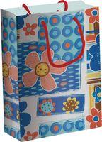 """Пакет бумажный подарочный """"Цветы"""" (33х43х10 см; арт. 061-3343-PBg)"""