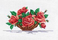 "Вышивка крестом ""Розы"" (260x150 мм)"
