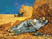 "Вышивка крестом ""Ван Гог. Сиеста"" (300х390 мм)"