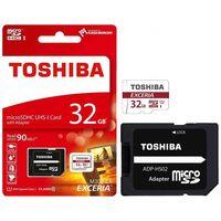 Карта памяти Toshiba microSDHC 32GB Class 10 M302 THN-M302R0320EA (с адаптером SD)