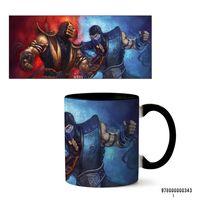 "Кружка ""Mortal Kombat"" (арт. 343, черная)"