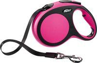 """Поводок-рулетка для собак """"New Comfort"""" (розовый, размер L, до 60 кг/5 м)"""