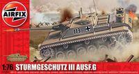 """Артиллерийская установка """"Sturmgeschutz III Ausf.G 75mm Assault Gun"""" (масштаб: 1/76)"""