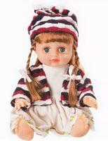 Кукла с косичками (в сумке)