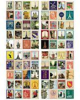 """Набор наклеек """"Souvenirs de Voyage Paris"""""""