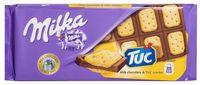 """Шоколад молочный """"Milka. Tuc"""" (87 г)"""