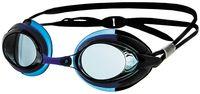 Очки для плавания (чёрно-голубые; арт. N302)