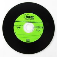 Диск CD-R 700Mb 52x Mirex MAESTRO (Vinyl) slim