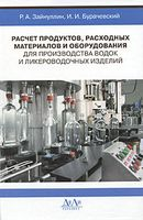 Расчет продуктов, расходных материалов и оборудования для производства водок и ликероводочных изделий