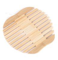Подставка под горячее бамбуковая (180х180 мм; арт. FA01-10)