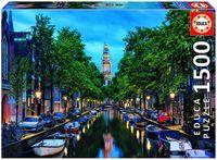 """Пазл """"Сумерки на канале в Амстердаме"""" (1500 элементов)"""