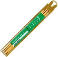 Спицы для вязания чулочные (бамбук; 3 мм; 5 шт.)