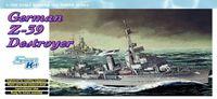 """Эсминец """"German Z-39 Destroyer"""" (масштаб: 1/700)"""