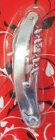 Штопор металлический с открывалкой (110 мм)