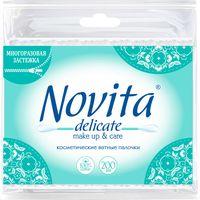 """Ватные палочки """"Novita Delicate"""" (пакет; 200 шт.)"""