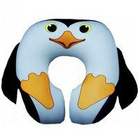 """Подушка под шею """"Пингвин"""" (чёрная)"""