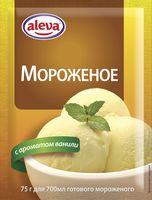 """Мороженое сухое """"Aleva. С ванилью"""" (75 г)"""