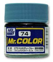 Краска Mr. Color (air superiority blue, C74)