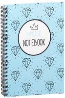 """Блокнот в клетку """"Hipster notebook"""" A5 (1367)"""