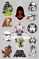 """Набор глянцевых наклеек """"Star Wars №2.3"""""""