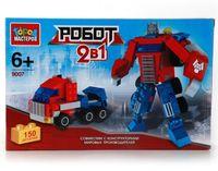 """Конструктор """"Роботы. Робот + грузовик"""" (150 деталей)"""