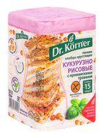 """Хлебцы кукурузно-рисовые """"Dr. Körner. С прованскими травами"""" (100 г)"""