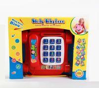 """Развивающая игрушка """"Красный телефон"""" (с обучающими карточками)"""