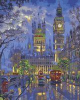 "Картина по номерам ""Вечерний Лондон"" (400x500 мм; арт. VS041)"