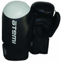 Перчатки боксёрские LTB19009 (10 унций; чёрно-белые)