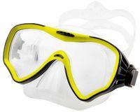 Маска для плавания 428 (силикон; жёлтая)