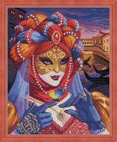 """Алмазная вышивка-мозаика """"Венецианская дама"""""""