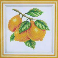 """Алмазная вышивка-мозаика """"Лимоны"""" (160х160 мм)"""