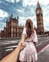"Картина по номерам ""Иди за мной. Лондон"" (400х500 мм)"