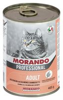 """Консервы для кошек """"Gatto"""" (405 г; креветки и лосось)"""