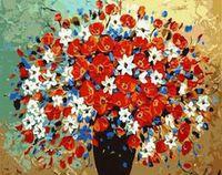 """Картина по номерам """"Роскошный букет"""" (400x500 мм; арт. MG304)"""