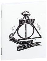 """Блокнот белый """"Гарри Поттер. Дары смерти"""" А7 (арт. 740)"""