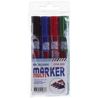 """Набор перманентных маркеров """"MULTI MARKER"""" (4 цвета, 3 мм, арт. CPM-800/4)"""