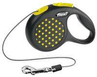 """Поводок-рулетка для собак """"Design"""" (желтый, размер XS, до 8 кг/3 м)"""