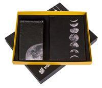 """Подарочный набор """"Луна"""" (обложка на паспорт и кредитница)"""