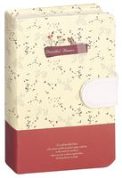 """Записная книжка в клетку """"Beautiful Flowers"""" (А6; арт. DV-9604; в ассортименте)"""